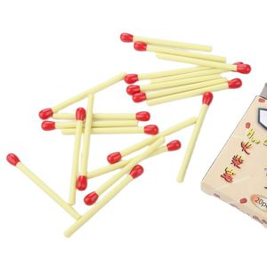 100PCS Simple Matches Modeling Cute Ballpoint Pen Wholesale Mini Creative Stationery Learning Supplies Prizes
