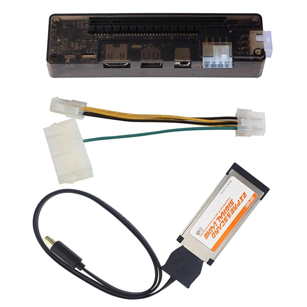 بطاقة PCI-E صغيرة نسخة اكسبرscard V8.0 EXP GDC الوحش PCIe PCI-E PCI كمبيوتر محمول خارجي مستقل بطاقة فيديو قفص الاتهام