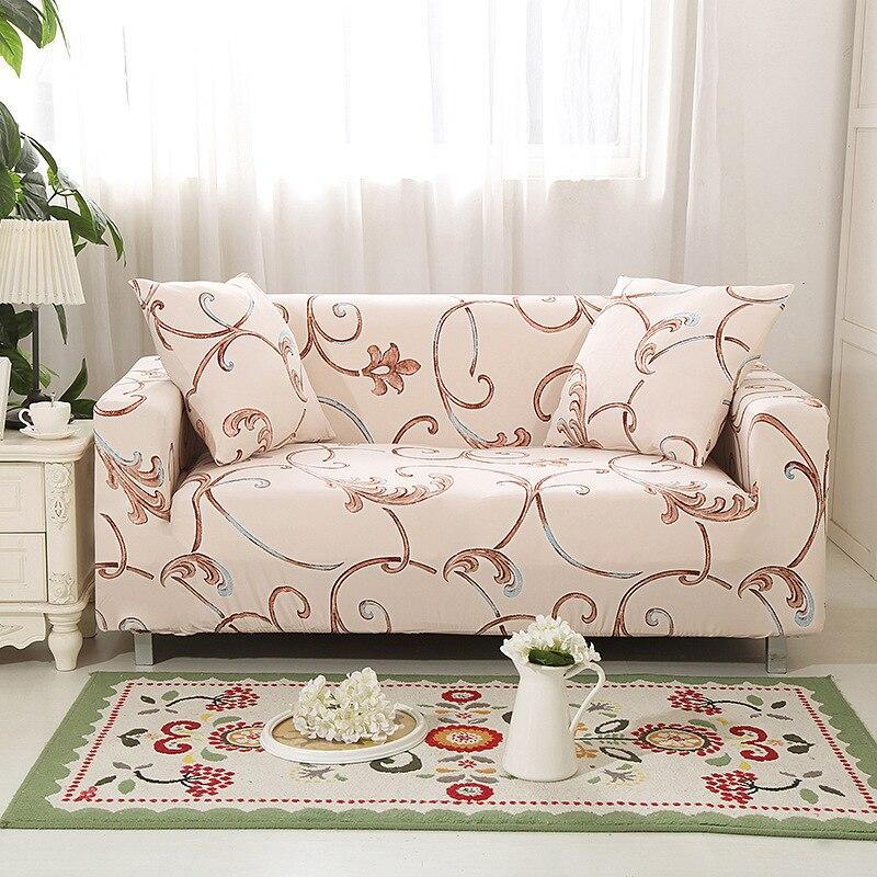 Diseño rojo, funda para sofá de algodón elástico, fundas elásticas para sofá para sala de estar, funda para sofá