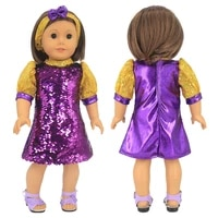 18 inch doll clothes dress and accessories set for american 18 inch girl doll 43cm baby newborn zapf and nenuco dolls clothing