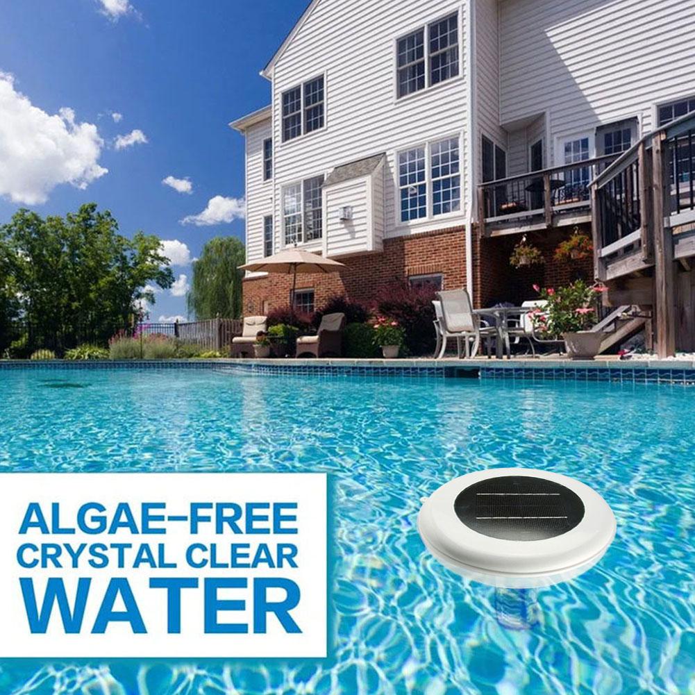جهاز تنقية المياه بالطاقة الشمسية ، جهاز تنقية المياه بأيون النحاس والفضة لتنظيف حمامات السباحة الساخنة في الهواء الطلق