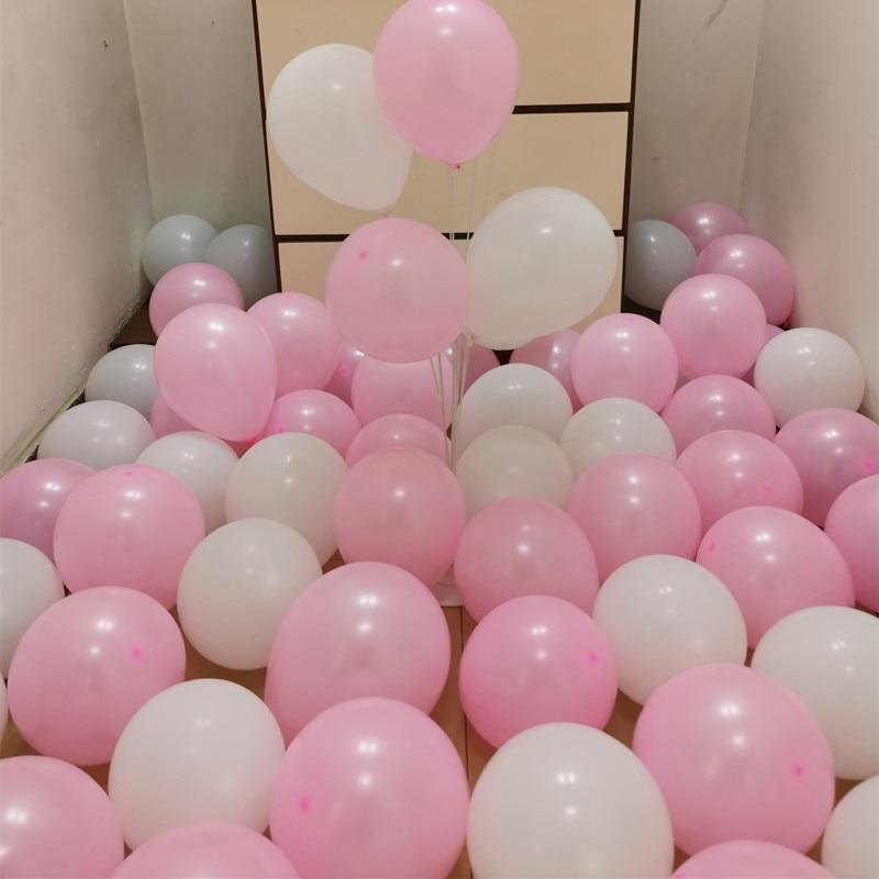 Birthday decorations Helium Foil Balloon 100pcs Latex Balloons Party baby shower Wedding Xmas pastel Globos