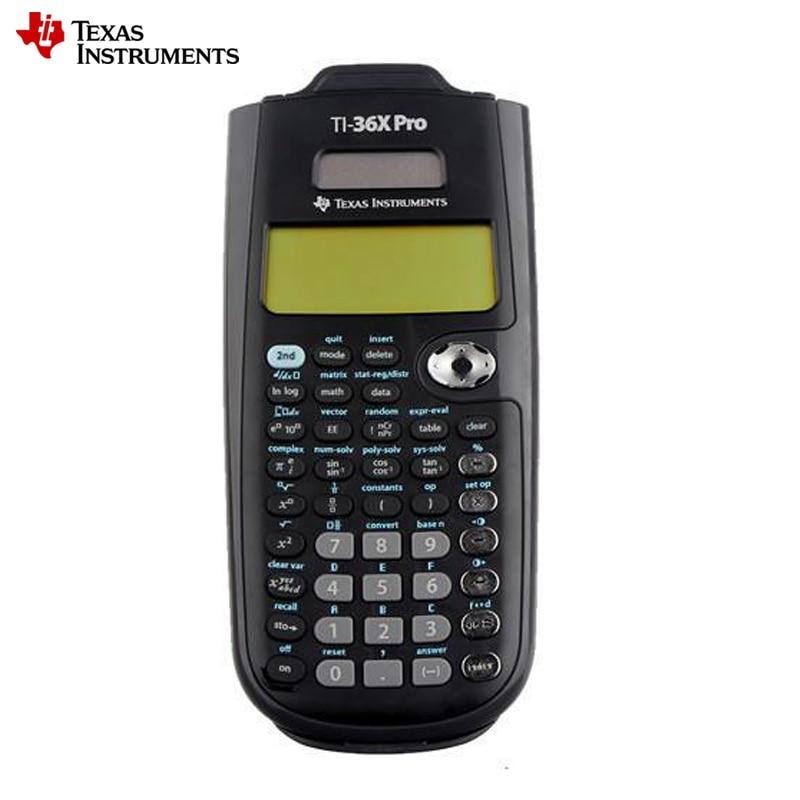2018 Texas Instruments New Original Ti-36x Pro Scientific Calculator Hot Sale Graphic Calculatrice Calculadora