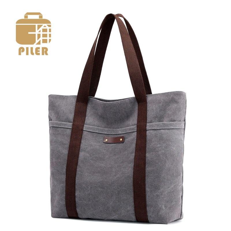 Bolso bandolera de lona para mujer, bolso de hombro, bolso de compras de lona, bolso de mano de diseñador para mujer, bolso Casual Hobo