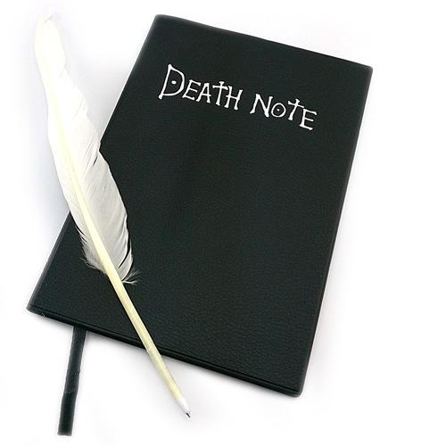 2021 Death Note Planner Anime Diary Cartoon Book Lovely Fashion Notebook Theme Cosplay Large Dead Note Writing Journal Notebook