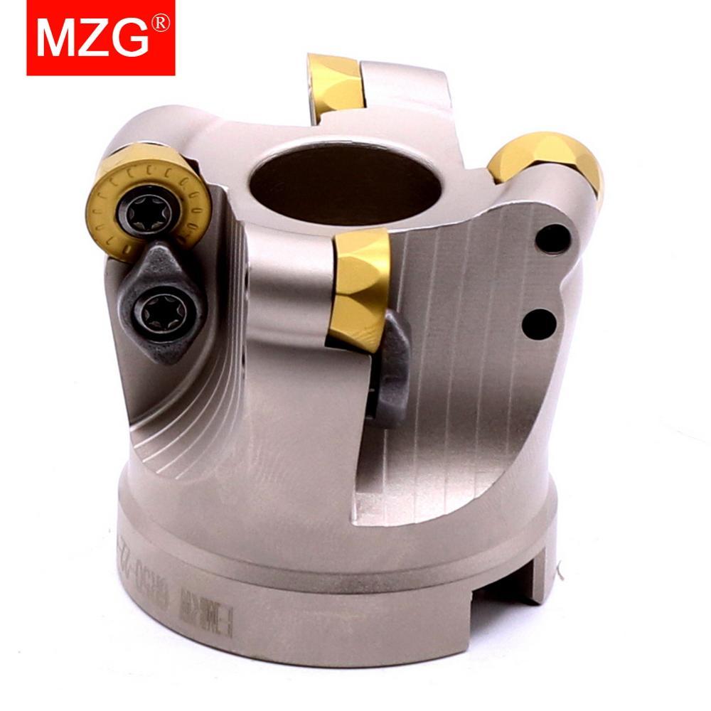 MZG EMRW 6R 5R RP 63 50 100 RPMT 1003 1204 كربيد نهاية مطحنة رئيس قطع الآلات جولة الأنف الوجه الطحن القاطع