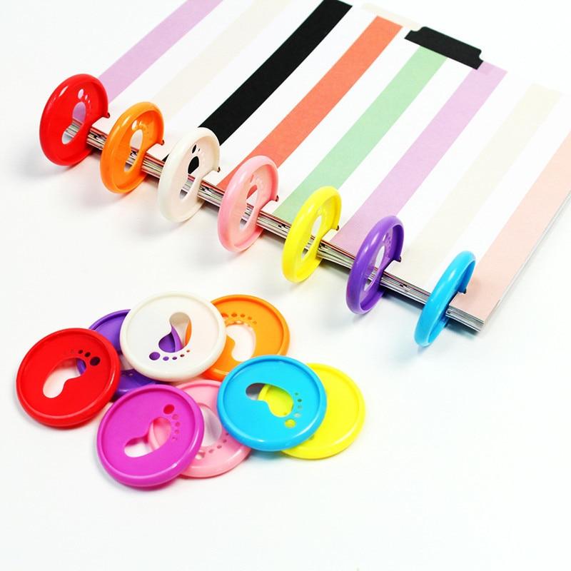 35MM30PCS цветной ножной тип CD пряжка ноутбук переплет кольцо DIY Свободные листья обучения офисные переплеты поставки