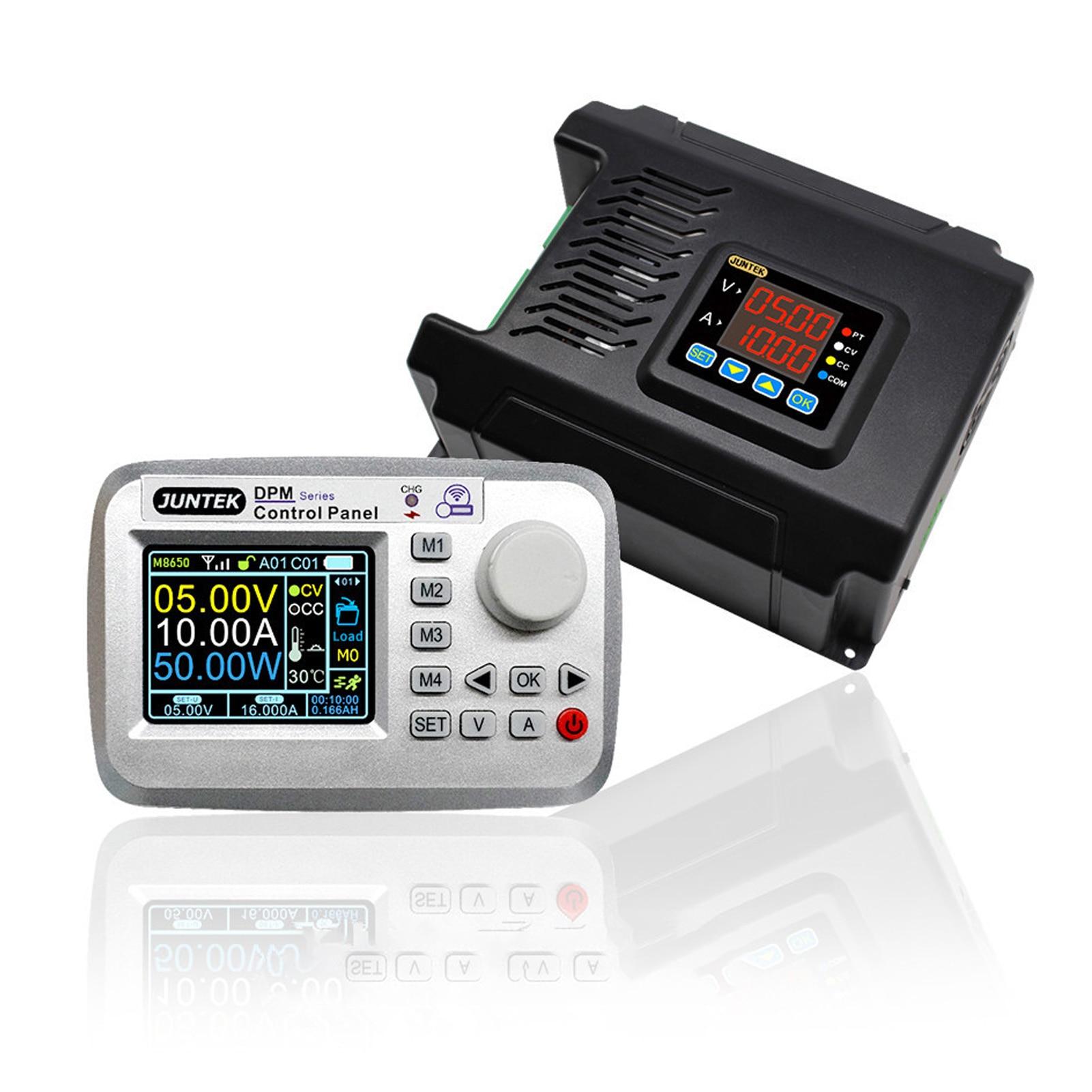 JUNTEK DPM8650-485RF 2.4 بوصة LCD 60V 50A RC الفولتميتر DC-DC امدادات الطاقة الجهد منظم تيار مستمر تحويل وحدة