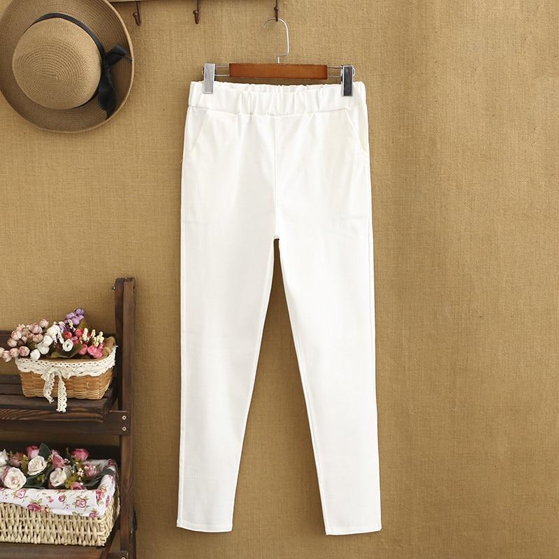 Брюки большого размера для пригородного туризма, женские белые брюки, женские профессиональные прямые облегающие, тонкие и дышащие, Стрейч...