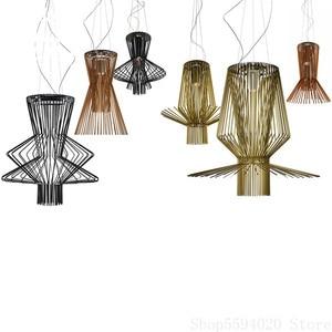 Italian Designer Oscarini Allegro Pendant Lamp Foscarini Allegro Ritmico Pendant Lights  Art Iron Luminaire Suspendu Lighting