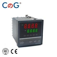 CG REX-C700 72*72mm 800 stopni wejście K J PT100 0-10V 4-20mA wyjście PID przekaźnik SSR 220V 24V 380V termostat regulator temperatury
