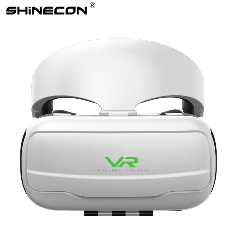 Head-mounted 3D Smart Glasses with Volume Adjustment To Answer Calls, Support 4.7-6.53 Inches Mobile Phone VR Glasses Headset enlarge