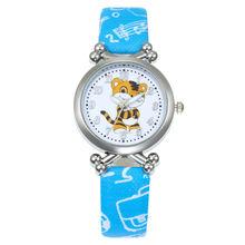 Noël enfants cadeau mignon petit tigre fille garçon enfants montre Sport montres bracelet en cuir dessin animé montre nouvelles montres de mode