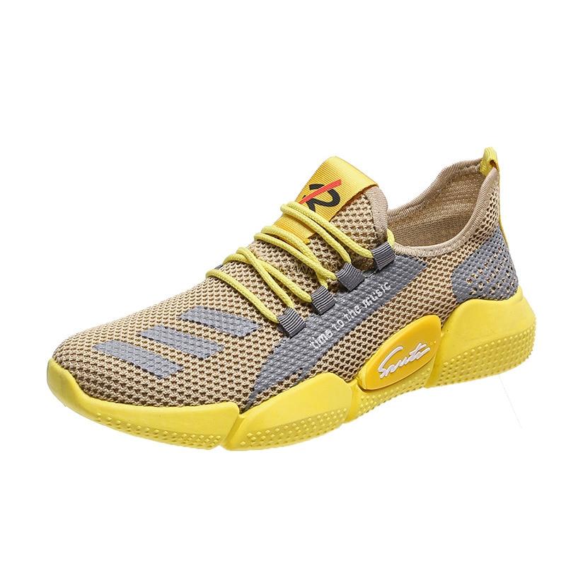 Lightweight Men Sneakers Fashion Men Casual Shoes Breathable Men Shoes Walking Sneakers Men's Tennis Mens Designer Shoes size 44