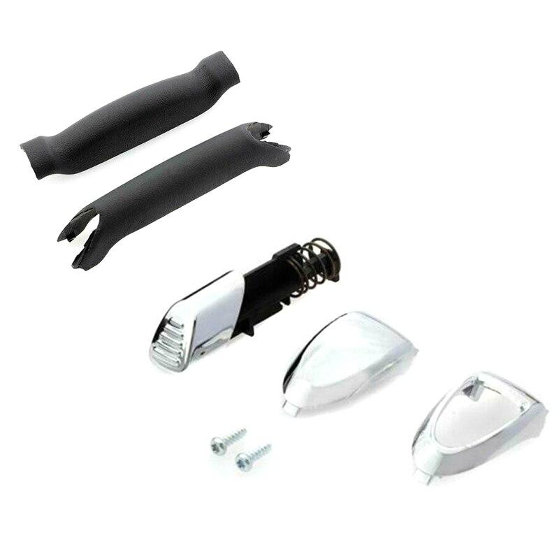 Handbrake Handle Repair Kit Soft Feel Parking Hand Brake Stop Handle for Ford Galaxy S-Max _WK
