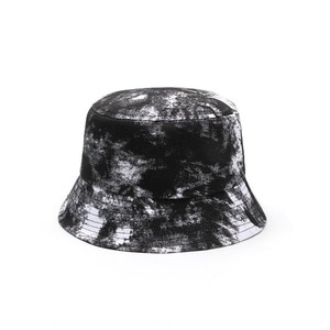 new personality street fashion gradient tie-dye one-sided fisherman hat male Korean sunscreen Japanese basin hat girl hat 2021