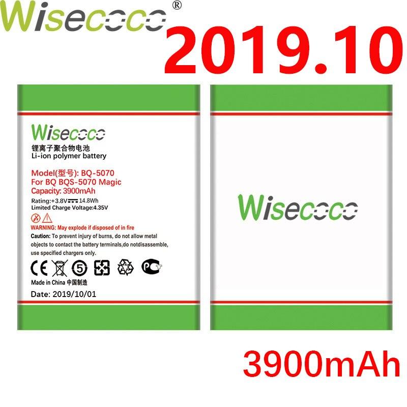 Wisecoco bqs5070 3900 mah recentemente produzido bateria para bq bqs 5070 BQS-5070 nous ns bqs 5004 magia de alta qualidade bateria do telefone