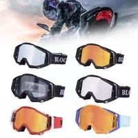fashion motocross goggles outdoor cycling atv helmet anti ultraviolet glasses for sport anti wind sand universal l9l2