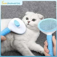 dog hair removal comb cats pets supplier flea pet comb for dogs grooming toll automatic hair brush trimmer