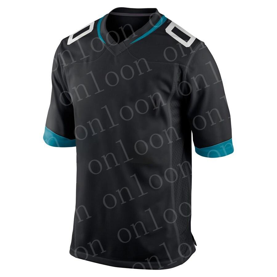 Мужская футболка с вышивкой по индивидуальному заказу, футболки для фанатов американского футбола Джексонвилл, Джерси CHAISSON брюнелл рэмсей ...