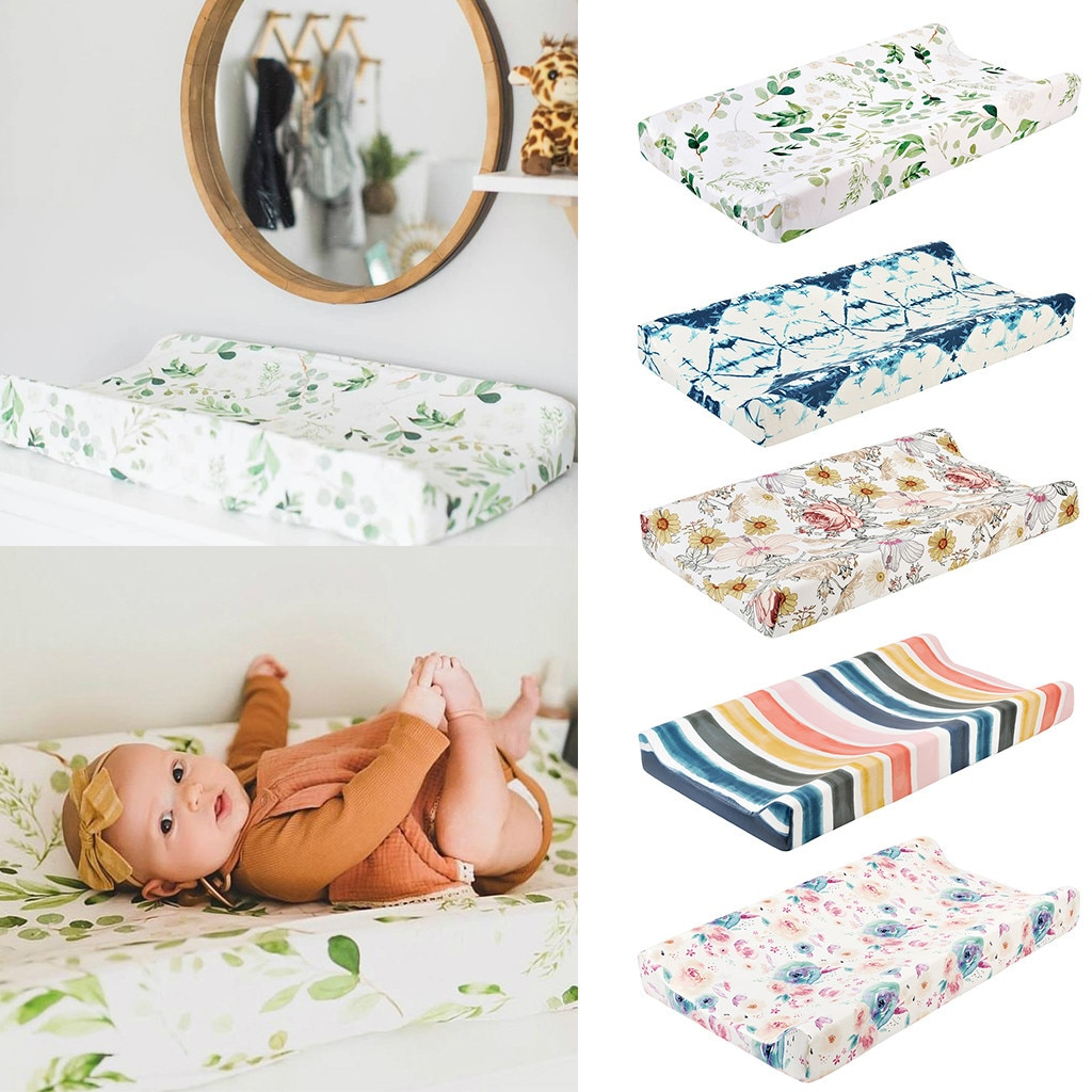 Baby Diaper Changing Pad Cover Nursery Baby Diaper Changing Mat Cover Changing Washable Table Cover Baby Care Accessories Ju4
