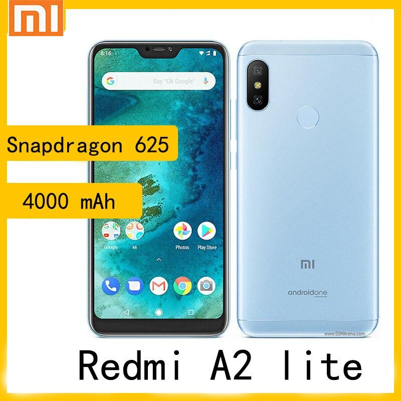 XIaomi A2 lite / redmi 6 pro smartphone pixels Snapdragon 625 4000 mAh also called redmi 6 pro global rom