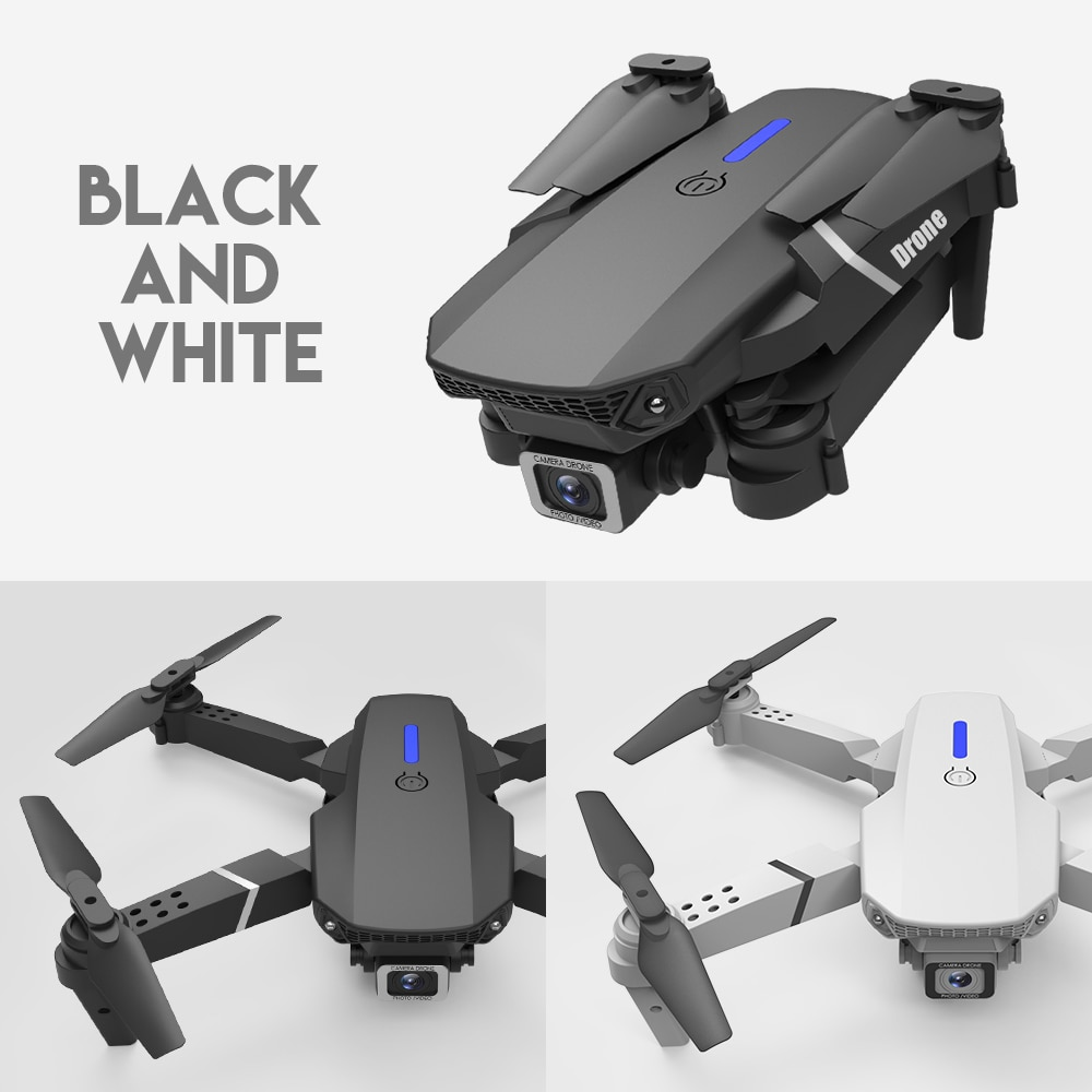 E88 Pro RC drone 4K HD Wide Angle Camera 1080P Wifi fpv Drone Dual Camera Aerial Photography obstacle avoiding  Aircraft  toys enlarge