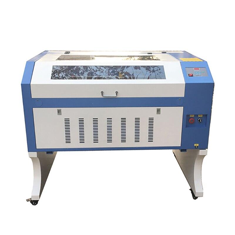 آلة قطع الخشب بالليزر ثلاثية الأبعاد ، 60 واط ، 80 واط ، 100 واط ، 6090 CO2 ، لقطع البلاستيك والجلد و MDF والاكريليك