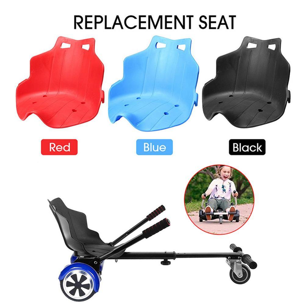 Nuevo-cojín de asiento de Kart a la deriva equilibrado, para Hoverboard de Karting negro