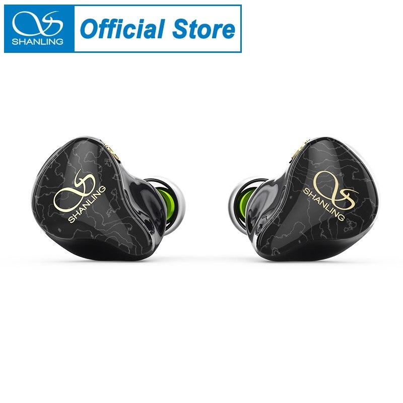 Fone de Ouvido 1dd + 4ba Iem com Triplo-furo Shanling Cinco Híbrido Driver In-ear Design 3d Impresso Concha Mmcx Octa-core Cabo Me700