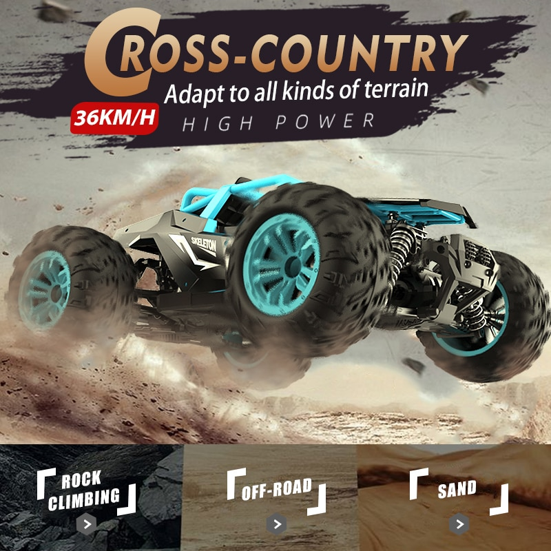 LOAR 1:14 4WD RC Car 2.4G Radio Control Four-wheel Drive High Speed Off Road Drift Racing SUV Remote Control Toys for Children enlarge