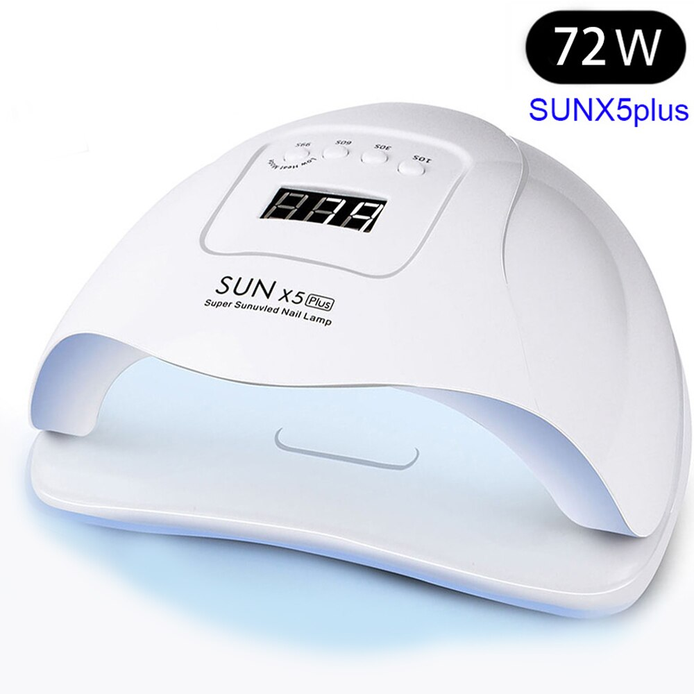 72W UV LED Nail Lamp with 36 Pcs Leds For Manicure Gel Nail Dryer Drying Nail Polish Lamp 30s/60s/90