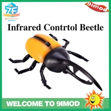 High Quality Infrared RC Beetle Remote Control Realistic Insect Scary Trick Kids Toy Gift
