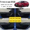 Tapis de porte Anti-coup de pied en cuir accessoires de protection pour voiture Honda Civic Sedan 2016 2017 2018 2019 2020 10e génération