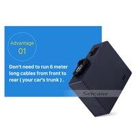 Seicane Car Optic fiber decoder Box Bose for 2003-2012 Porsche Cayenne Radio Digital Audio Amplifier Optic Interface Converter