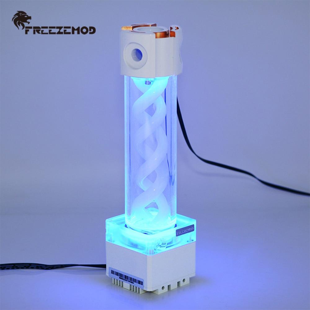 خزان مياه التبريد خزان أنظمة تبريد المياه مضخة خزان كومبو دعم PWM سرعة التحكم عن ملحقات الكمبيوتر
