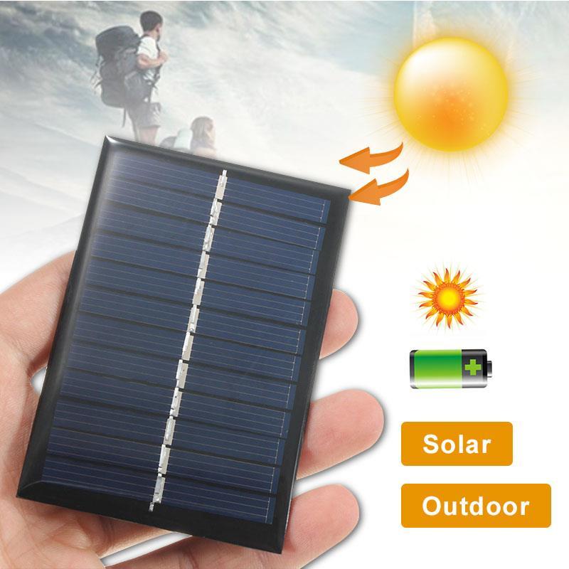 6V панель для 1W Солнечное зарядное устройство s Power DIY Солнечная система для мобильных телефонов, игрушки, светильник, Мини Портативная солнечная панель, зарядное устройство для улицы