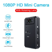 MD90 Mini Camcorder 1080P Camera Night Vision Sport Outdoor DV Voice Video Recorder Action HD Bike B