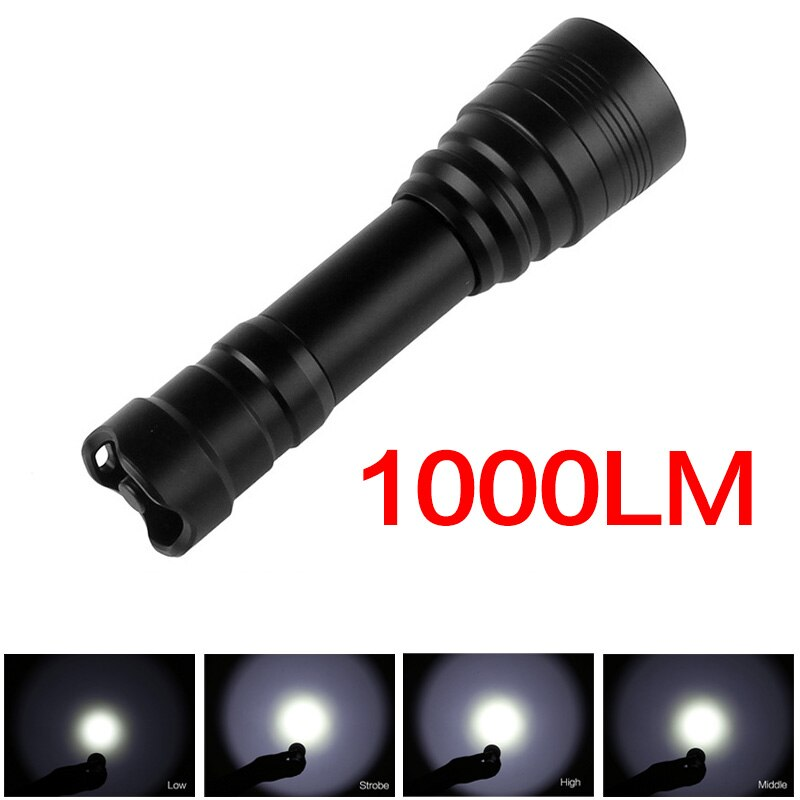 SecurityIng Dive Flashlight Waterproof High Power Underwater 150m Handheld Diving Flashlight Lamp Torch18650 Battery Charger