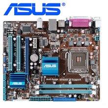 ASUS P5G41T-M LX placas base LGA 775 DDR3 8GB para Intel G41 P5G41T-M LX tablero base de escritorio SATA II PCI-E X16 usado