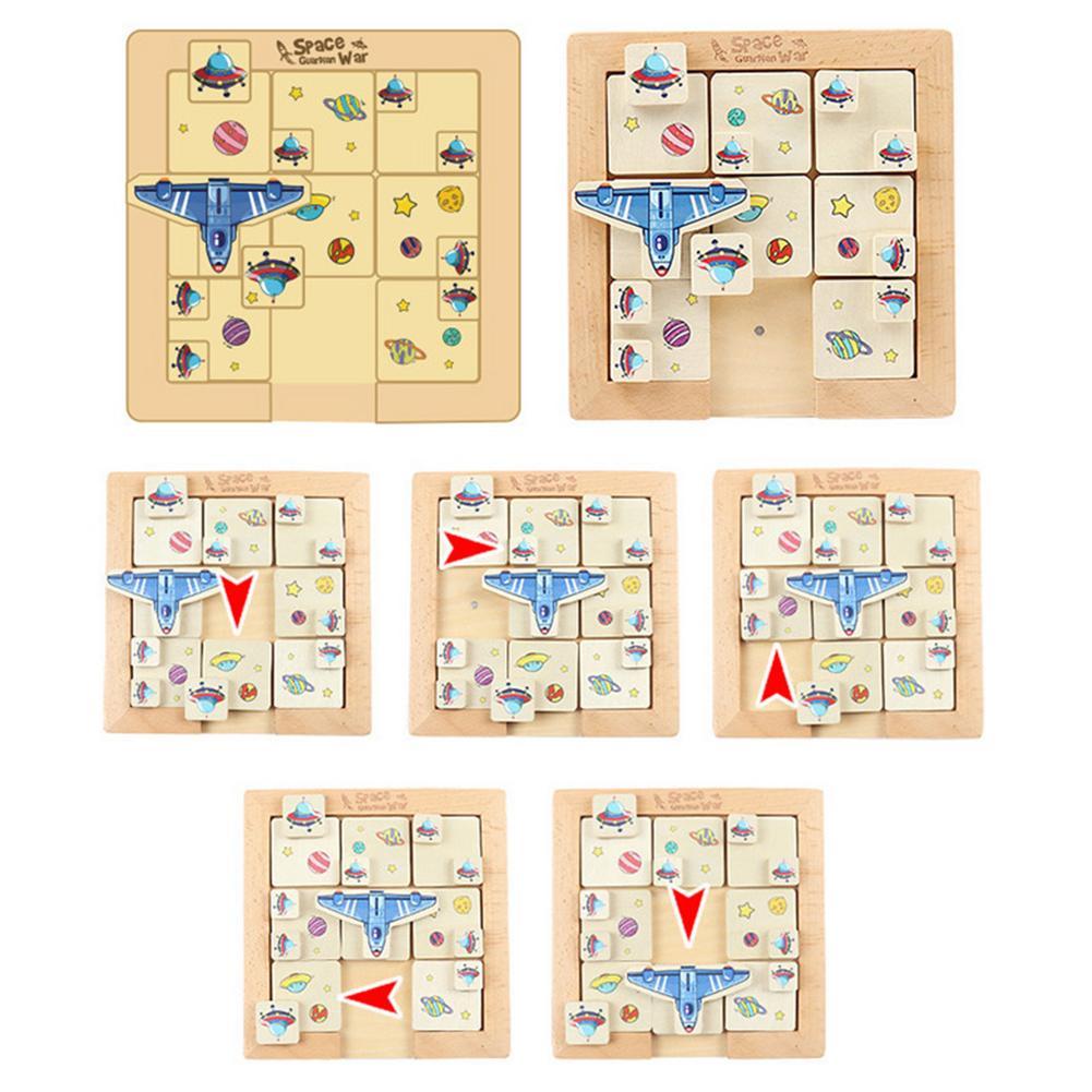 Фото - Развивающая игрушка Klotski, развивающая головоломка для детей и родителей, интерактивная игра для раннего обучения, подарок для детей говорящие слова развивающая игра для детей