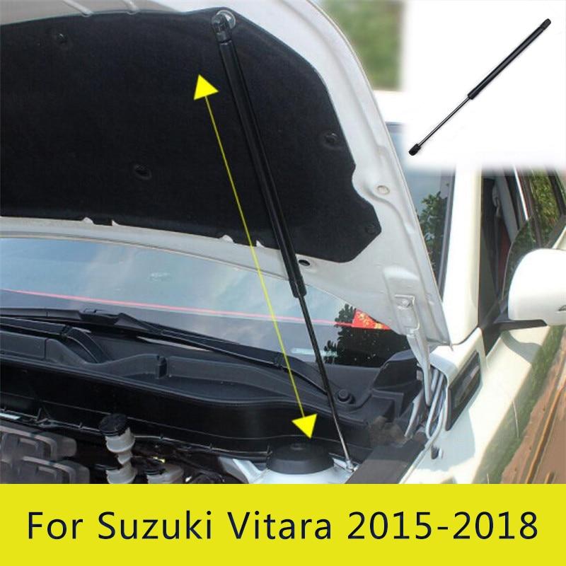 Car Front Hood Engine Cover Supporting Hydraulic rod Lift Strut Spring Shock Bars Bracket For Suzuki Vitara 2015 2016 2017 2018