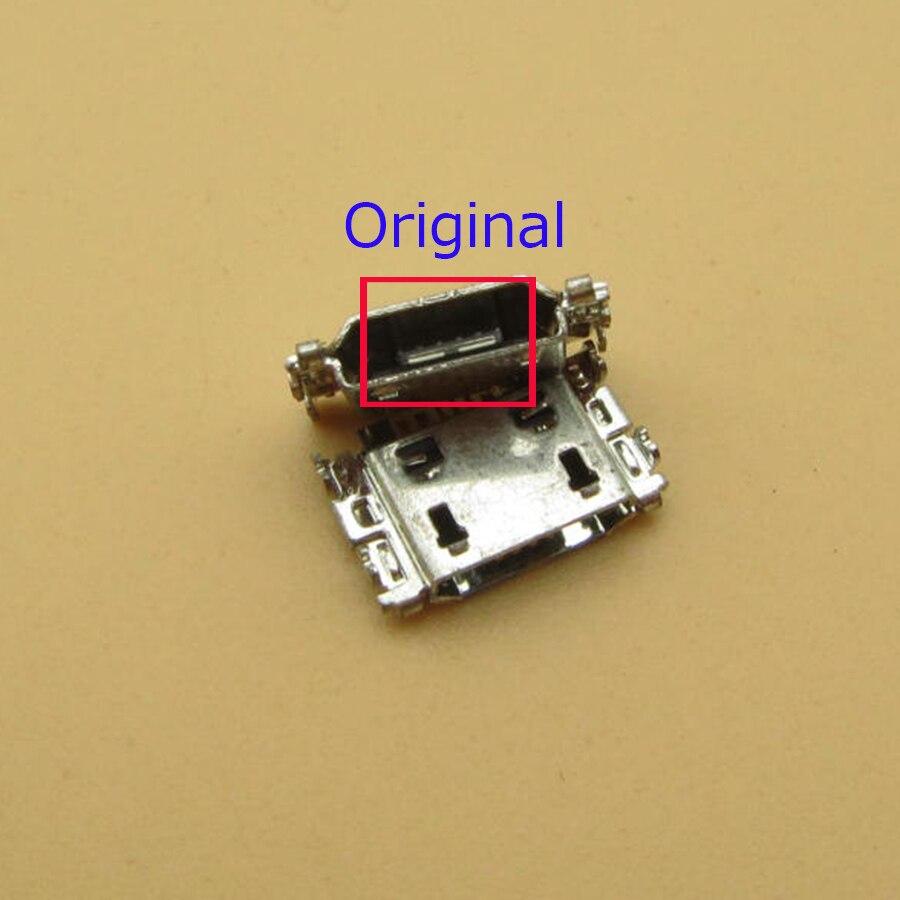 100 قطعة الأصلي مايكرو USB ميناء الشحن جاك موصل لسامسونج J5 SM-J500 J1 SM-J100 J100 J500 J5008 J500F J7 J700 J7008