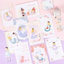 Carte histoire conte de fées Alice 30 pièces   Carte dinvitation, multi-usage comme carte de Scrapbooking, carte cadeau, carte de Message, carte postale, décoration diy