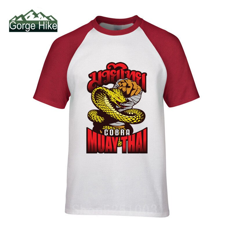 3D genial Popular Cobra Kai arte marcial t camisa de los hombres pantalón corto para muay thai manga camiseta diseño clásico Tops Tees Cobra ropa Kai