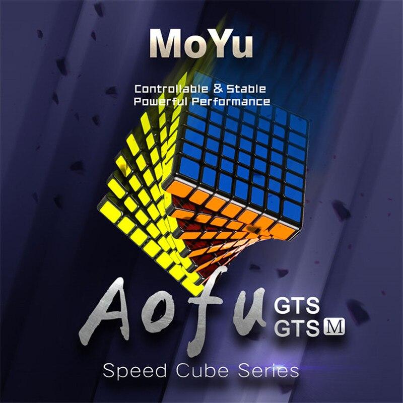 MoYu 7x7x7 Cubo magnético mágico de velocidad profesional 7x7 imanes rompecabezas Cubo mágico juguetes educativos para niños