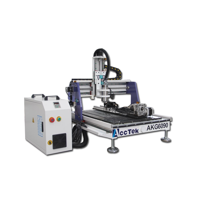 CNC Machine Mini 3 Axis 4 Axis 5 Axis CNC Routers For Wood Metal DIY Electric Wood Router 6090 enlarge