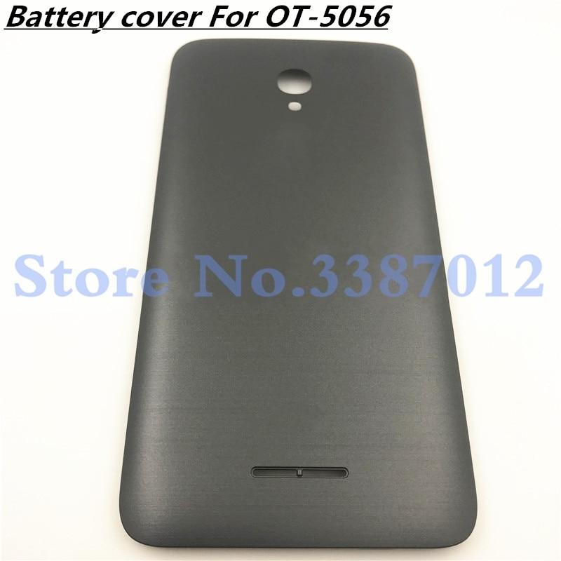 Carcasa de teléfono móvil Original para Alcatel One Touch OneTouch Pop4 + Pop 4 + 5056 5056a OT-5056 OT5056 batería trasera la puerta de la cubierta caso