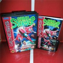 Schleifen Stormer UNS Abdeckung mit Kasten und Handbuch Für Sega Megadrive Genesis Video Spiel Konsole 16 bit MD karte