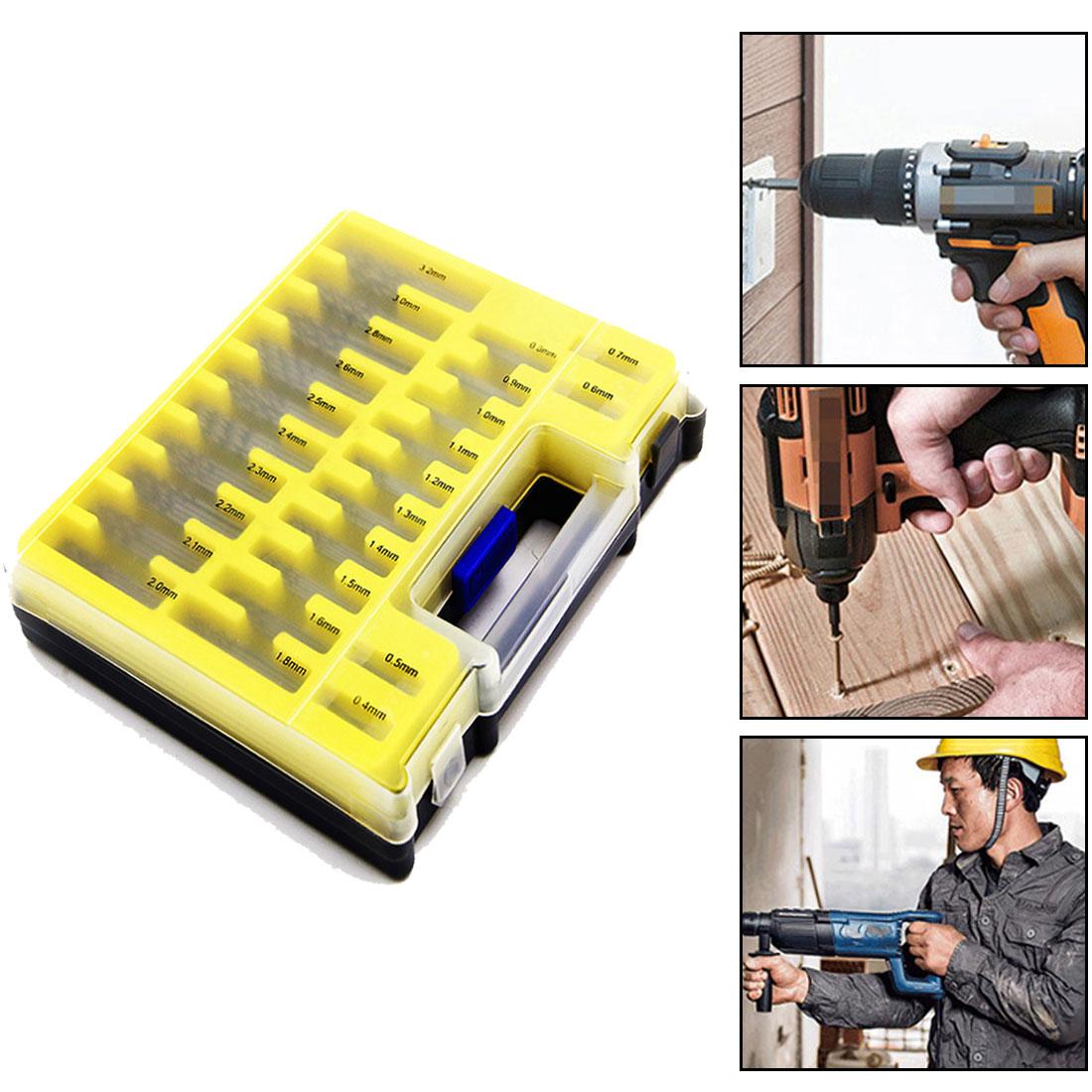 tasp 150pc hss micro pcb drill bit set precision twist drilling kit with storage box 150PCS Hand Tools Twist Drill 0.4-3.2mm Drill Bit Set  Kit Tool Drill Bit  Small Precision with Carry Case Plastic Box Mini HSS